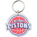 NBA チームロゴ アクリル キーチェーン ピストンズ Detroit Pistons Team Logo High Definition Keychain