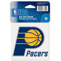 NBAチームロゴ ダイカットステッカー ペイサーズ(A) Indiana Pacers 4x4 Die Cut Decal