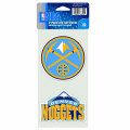 NBAチームロゴ ダイカットステッカー2種セット ナゲッツ Denver Nuggets Set of 2 Die Cut Decals
