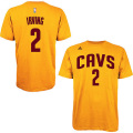 NBAカイリー・アービング Tシャツ(ゴールド)キャバリアーズ adidas Cleveland Cavaliers Kyrie Irving Gold Game Time T-Shirt