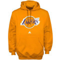 NBA プライマリーロゴ フーディー  レイカーズ(ゴールド) adidas Los Angeles Lakers Primary Logo Hoodie Sweatshirt - Gold
