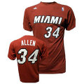 NBA レイ・アレン Tシャツ (レッド) ヒート adidas Miami Heat Ray Allen Red Game Time T-Shirt