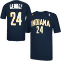 NBA ポール・ジョージ Tシャツ(ネイビー)ペイサーズ adidas Indiana Pacers Paul George Navy Blue Game Time T-Shirt