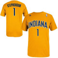 NBA ランス・スティーブンソン Tシャツ(ゴールド)ペイサーズ adidas Indiana Pacers Lance Stephenson Gold Game Time T-Shirt