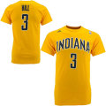 NBA ジョージ・ヒル Tシャツ(ゴールド)ペイサーズ adidas Indiana Pacers George Hill Gold Game Time T-Shirt
