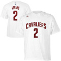 NBA カイリー・アービング Tシャツ(ホワイト)キャバリアーズ adidas Cleveland Cavaliers Kyrie Irving White Game Time T-Shirt