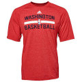 NBA オンコート プラクティスTシャツ ウィザーズ(レッド) adidas Washington Wizards On-Court Practice T-Shirt - Red Heather