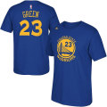NBA ドレイモンド・グリーン Tシャツ(ブルー)ウォリアーズ adidas Golden State Warriors Draymond Green Blue Game Time T-Shirt