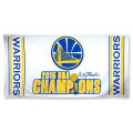 2015 NBAファイナル チャンピオン ウォリアーズ ビッグタオル Golden State Warriors White 2015 NBA Finals Champions Beach Towel