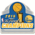 2015 NBAファイナル チャンピオン ウォリアーズ Collectorピンバッジ Golden State Warriors 2015 NBA Finals Champions Collector Pin
