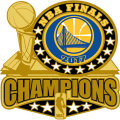 2017 NBAファイナル チャンピオン ウォリアーズ Trophyピンバッジ Golden State Warriors 2017 NBA Finals Champions