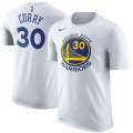 NBA ステフィン・カリー ネーム&ナンバーTシャツ ウォリアーズ(ホワイト) Nike Stephen Curry Golden State Warriors