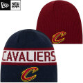 NBA リバーシブル ニットキャップ キャバリアーズ New Era Cleveland Cavaliers Navy/Wine Reverse Knit Beanie