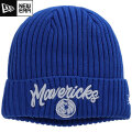 NBA On The Court ニットキャップ マーベリックス(ブルー) New Era Dallas Mavericks Blue Draft On The Court Cuffed Knit Cap