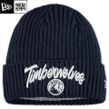 NBA On The Court ニットキャップ ティンバーウルブズ(ネイビー) New Era Minnesota Timberwolves Cuffed Knit Cap