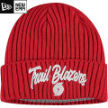 NBA On The Court ニットキャップ トレイルブレイザーズ(レッド) New Era Portland Trail Blazers Cuffed Knit Cap