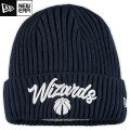 NBA On The Court ニットキャップ ウィザーズ(ネイビー) New Era Washington Wizards Navy Draft On The Court Cuffed Knit Cap