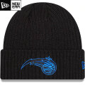 NBA Black on Black ニットキャップ マジック New Era Orlando Magic Core Classic Black on Black Cuffed Knit Cap