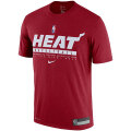 NBA プラクティスTシャツ ヒート(レッド) Nike Miami Heat Red Legend Practice Performance T-Shirt