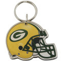 NFL アクリルヘルメット キーチェーン パッカーズ Green Bay Packers Acrylic Helmet Key Chain