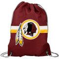 NFL チームロゴ バックパック レッドスキンズ Washington Redskins Burgundy Team Logo Drawstring Backpack