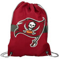 NFL チームロゴ バックパック バッカニアーズ Tampa Bay Buccaneers Red Team Logo Drawstring Backpack