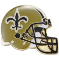 NFL ヘルメット ピンバッジ セインツ New Orleans Saints Helmet Pin