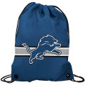 NFL チームロゴ バックパック ライオンズ Detroit Lions Light Blue Team Logo Drawstring Backpack