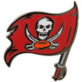 NFL チームロゴ ピンバッジ バッカニアーズ(B) Tampa Bay Buccaneers Team Logo Pin (B)