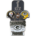 NFL第45回スーパーボウル記念ピン(2011) Super Bowl XLV Commemorative Pin