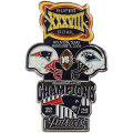 NFL第38回スーパーボウル記念ピン(2004) Super Bowl XXXVIII Commemorative Pin