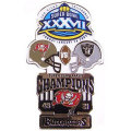 NFL第37回スーパーボウル記念ピン(2003) Super Bowl XXXVII Commemorative Pin