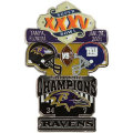 NFL第35回スーパーボウル記念ピン(2001) Super Bowl XXXV Commemorative Pin