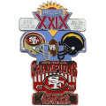 NFL第29回スーパーボウル記念ピン(1995) Super Bowl XXIX Commemorative Pin