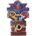 NFL第26回スーパーボウル記念ピン(1992) Super Bowl XXVI Commemorative Pin
