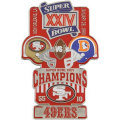 NFL第24回スーパーボウル記念ピン(1990) Super Bowl XXIV Commemorative Pin
