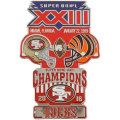 NFL第23回スーパーボウル記念ピン(1989) Super Bowl XXIII Commemorative Pin