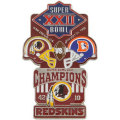 NFL第22回スーパーボウル記念ピン(1988) Super Bowl XXII Commemorative Pin