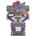 NFL第21回スーパーボウル記念ピン(1987) Super Bowl XXI Commemorative Pin