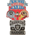 NFL第18回スーパーボウル記念ピン(1984) Super Bowl XVIII Commemorative Pin