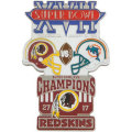 NFL第17回スーパーボウル記念ピン(1983) Super Bowl XVII Commemorative Pin