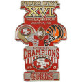 NFL第16回スーパーボウル記念ピン(1982) Super Bowl XVI Commemorative Pin