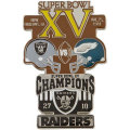 NFL第15回スーパーボウル記念ピン(1981) Super Bowl XV Commemorative Pin