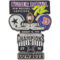NFL第12回スーパーボウル記念ピン(1978) Super Bowl XII Commemorative Pin