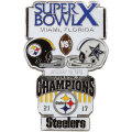 NFL第10回スーパーボウル記念ピン(1976) Super Bowl X Commemorative Pin