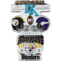 NFL第9回スーパーボウル記念ピン(1975) Super Bowl IX Commemorative Pin