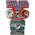 NFL第7回スーパーボウル記念ピン(1973) Super Bowl VII Commemorative Pin