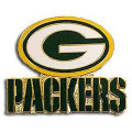 NFL チームロゴ ピンバッジ パッカーズ(B) Green Bay Packers Team Logo Pin (B)