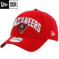 NFL 2012 ドラフトキャップ バッカニアーズ New Era Tampa Bay Buccaneers 2012 Official Draft Day Cap - Red