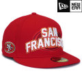 NFL 2012 59FIFTYドラフトキャップ フォーティナイナーズ New Era San Francisco 49ers 59FIFTY 2012 Draft Cap